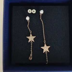 Jewelry - Star earrings in different length